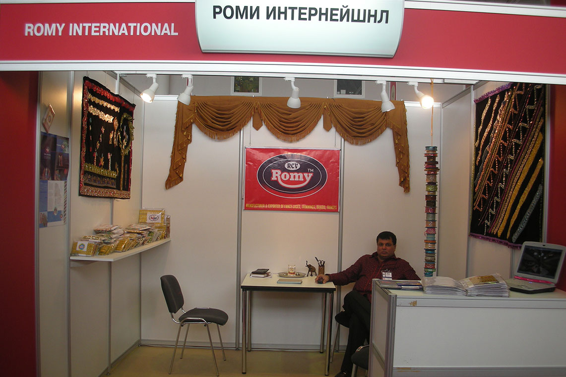 Exhibitions - Romy Lace - Best Lace Manufacturer in Surat, India