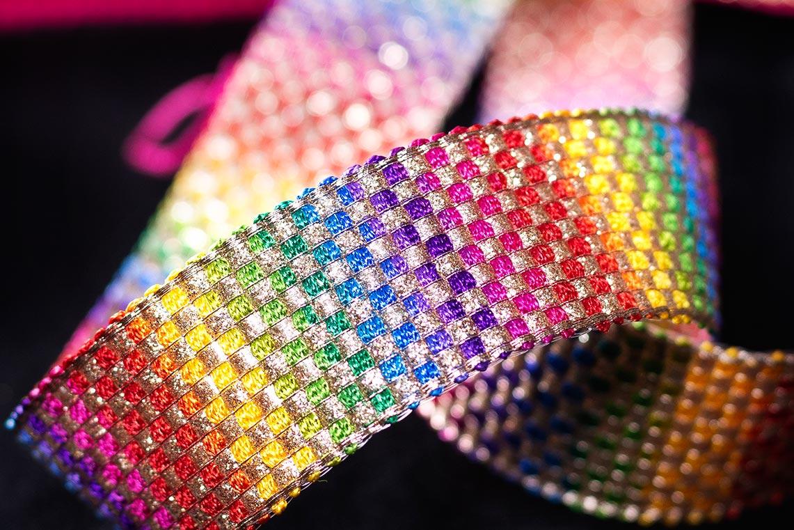 Multi Color Laces - Romy Lace - Best Lace Manufacturer in Surat, India