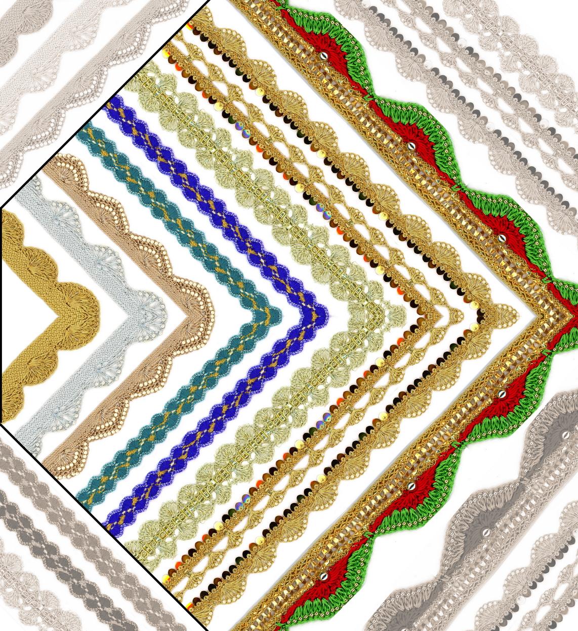 Pankha Laces - Romy Lace - Best Lace Manufacturer in Surat, India