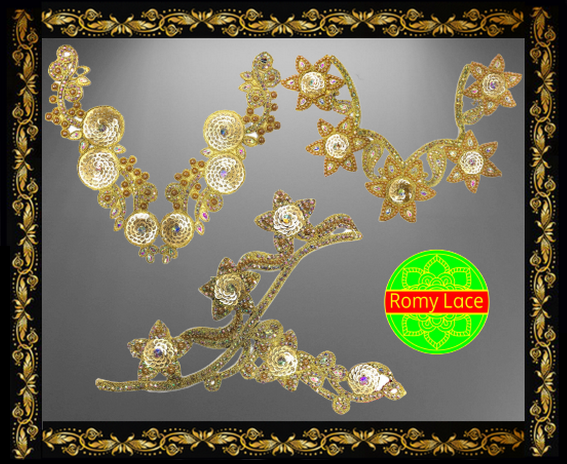 Neckline - Romy Lace - Best Lace Manufacturer in Surat, India